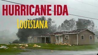 HURRICANE IDA Louisiana  USA- 29/08/21