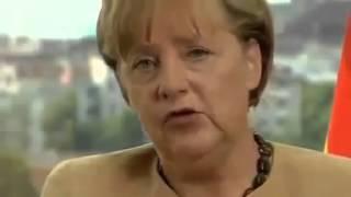 Angela Merkel Deutsche müssen Gewalt der Ausländer akzeptieren