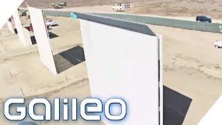 So sieht die Mauer zwischen Mexiko und den USA aus