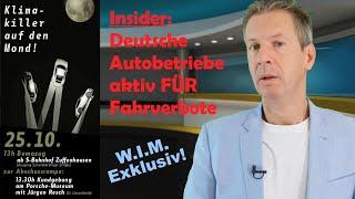 """Deutsche Auto-Betriebe aktiv FÜR Fahrverbote und ungestörte Klima-Demos mit """"Ende Gelände"""" etc"""