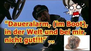 """""""Daueralarm, (im Boot), in der Welt und bei mir, nicht gut!!!"""" ..."""