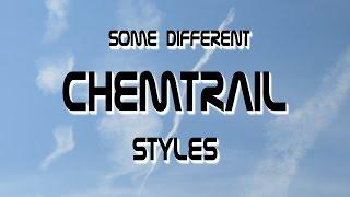 Different Chemtrail Styles 2015