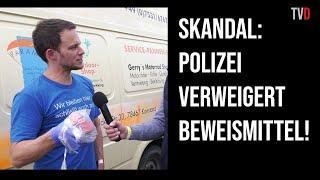 Markus Haintz: Bengalo auf Demo in Konstanz geworfen!