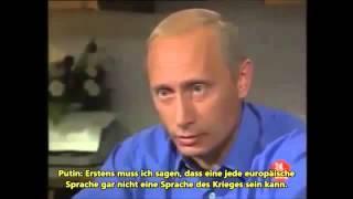 Putin spricht deutsch verteidigt BRD Bürger am 2 Weltkrieg auch Gorbatschow Montagsdemo Wissen
