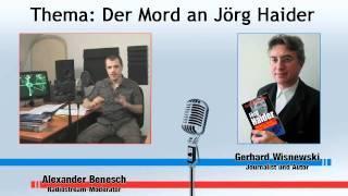 Gerhard Wisnewski Interview zu dem Mord an Jörg Haider (Infokrieg.tv) (1/3)