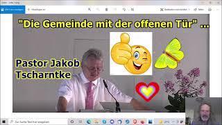 """""""Predigt: Die Gemeinde mit der offenen Tür mit dem Held Jakob!!!"""" ..."""