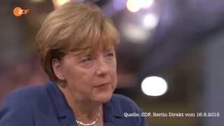 Merkel: Wenn die Flüchtlinge einmal hier sind, werden wir die ganz schwer wieder los!