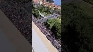 Beeindruckende Bilder der Demonstration in Nizza gegen den Gesundheitspass ????????❤️❤️????????
