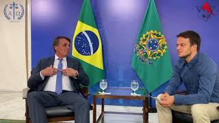 Präsident Jair Bolsonaro im exklusiven Interview mit Markus Haintz und Vicky Richter