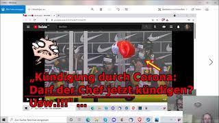 """""""Kündigung durch Corona: Darf der Chef jetzt kündigen? Usw.!!!"""" ..."""