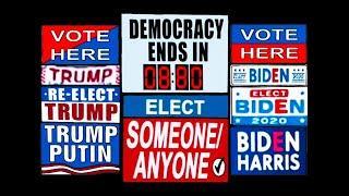 Simpsons - Election Day - November 3, 2020 (Trump & Biden)