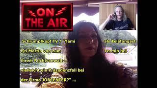 """Trailer: Schrumpfkopf TV / """"Telefongast bei Martin von — Präzedenzfall bei der Firma JOBCENTER?""""..."""