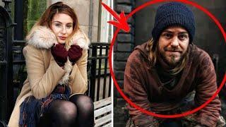 Ein Mensch kann so viel in Bewegung bringen - Obdachloser schenkte ihr seine letzten 3 £ für ein TAX