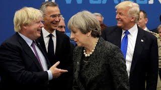 Donald Trump und Boris Johnson und andere ... sehenswert