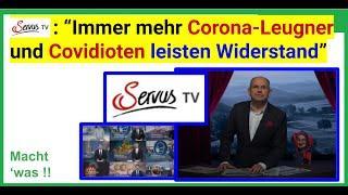 """""""Wackelt die Plandemie? Immer mehr aufmüpfige Corona-Leugner und Covidioten leisten Widerstand."""""""