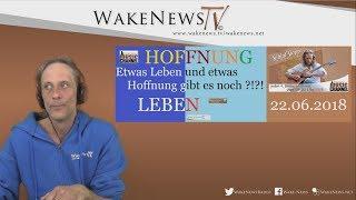 Etwas Leben und etwas Hoffnung gibt es noch - Schlaf Stopp mit Martin Wake News Music Channel
