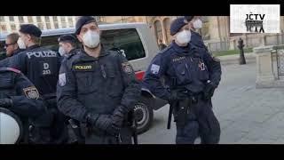 14.4.2021: Verhaftung von Patrick nach der Wien-Demo am 10.4.21 wg. unerwünschter Meinungsäußerung ?