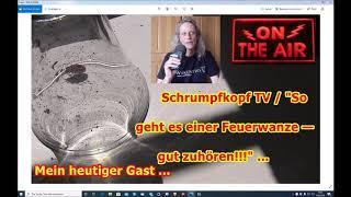 """Trailer: Schrumpfkopf TV / """"Eine Feuerwanze meldet sich zu Wort!"""" ..."""