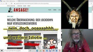 """""""Lockdown verfassungswidrig und erneuter Schwachsinn, usw.!!!"""" ..."""