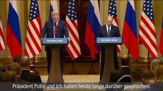 Trump-Putin-Gipfel - Pressekonferenz