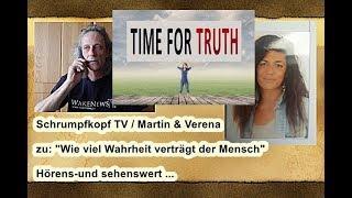 """Trailer: Schrumpfkopf TV / Martin & Verena zu """"Wie viel Wahrheit verträgt der Mensch"""" ..."""
