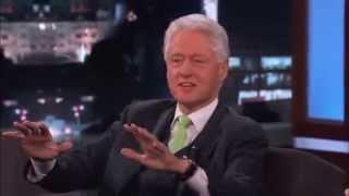 Bill Clinton talks about the coming FAKE-Alien-Invasion