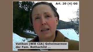 Vatikan (WiE CIA) Geheimarmee der Fam. Rothschild ...
