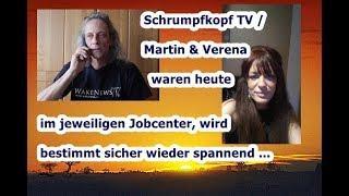 Trailer: Schrumpfkopf TV / Martin & Verena am selben Tage beim JOBCENTER, wir berichten ...