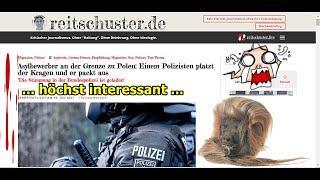 """""""Ein Bundespolizist packt aus (Beitrag von Boris Reitschuster)!!!"""" …"""