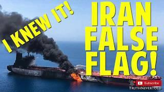 I KNEW IT! Iran False Flag FAILS!