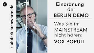"""Corona: """"Es fühlt sich schlimmer an als in der DDR."""" Was Mainstreammedien nicht berichten. Vox pop"""