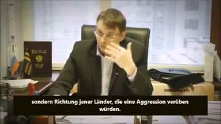 RUSSLAND - BEI ANGRIFF DER NATO AUF DIE UKRAINE WERDEN  WASHINGTON u BERLIN EINGEÄSCHERT