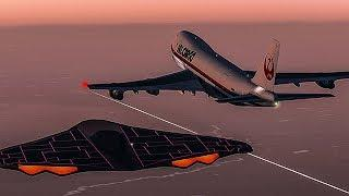 Boeing 747 Followed by a UFO | An Out Of This World Encounter | Japan Air Lines Flight 1628