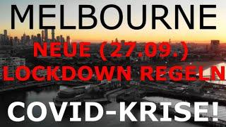 MELBOURNE. Die neuen Regeln des Lockdowns. $5000 Strafen jetzt!