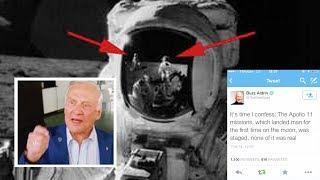 Astronaut Buzz Aldrin gesteht: Die Mondflüge fanden nicht statt!