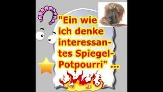 """""""Ein wie ich denke interessantes Spiegel-Potpourri!!!"""" ..."""