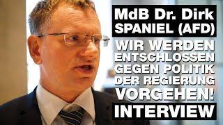 INTERVIEW - Abgeordneter Dr. DIRK SPANIEL - AfD - Warum Ich gegen das Infektionsschutzgesetz stimmen