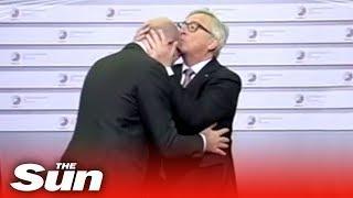 Jean Claude Junckers  seltsames Verhalten