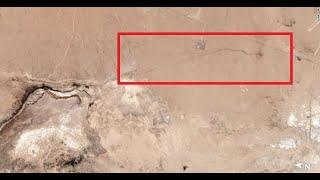 7/08/2019 -- Multi-mile long 100 foot wide fissure / crack forms in Southern California