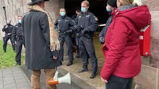 Nürnberg: Polizei-Attacke auf Ex-Polizist Karl Hilz 2. Perspektive  03.01.21