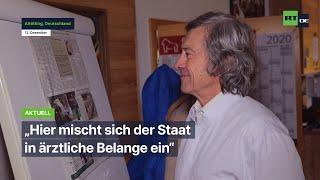 """Die Pandemie ist beendet"": Altöttinger Arzt wegen Film-Requisite denunziert"