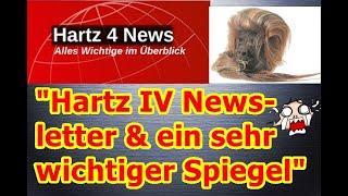 """""""Hartz IV Newsletter & ein sehr wichtiger Spiegel von Detleff.Artist!!!"""" ..."""