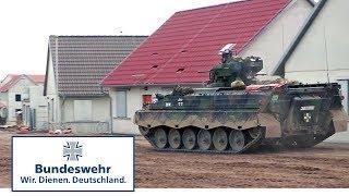 Schnöggersburg – Erster Durchgang mit Truppe - Bundeswehr