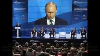 NWO bitte anhören - Klare Rede von Präsident Putin - 2013