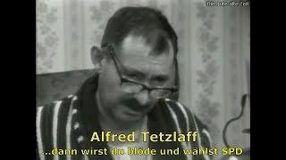 Früher, wie heute: Alfred Tetzlaff über die SPD und ihre Wähler