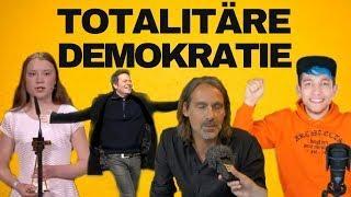Mit Precht, Greta, Rezo und den Grünen in die totalitäre Demokratie?