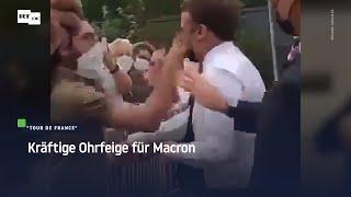 Tour de France: Kräftige Ohrfeige für Macron
