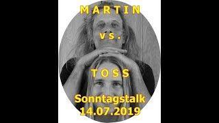 Trailer: Sonntagstalk Martin vs. Toss, Afrika, Farbige?, Asylanten, Karma, usw.