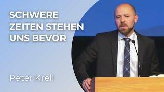 Anhören - Teilen !  Was für eine Rede !  Schwere Zeiten stehen uns bevor - Peter Krell