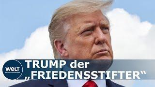 Norwegischer Abgeordneter nominiert Trump für Friedensnobelpreis